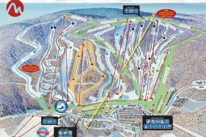 map Camelback mountain